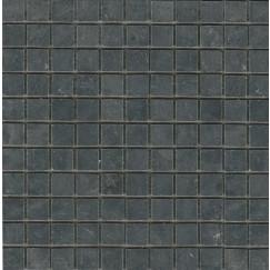 Progetto Limestone mozaiek black 30.5x35.5cm, antraciet