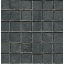 Mozaiek limestone dark mozaiek 5x5x1 cm