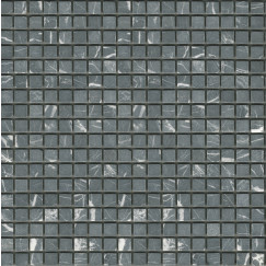Mozaiek marm,moz,zwart 01,5x01,5 per vel