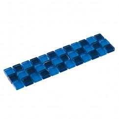 Listello mosaic blauw mix 04,8x19,5