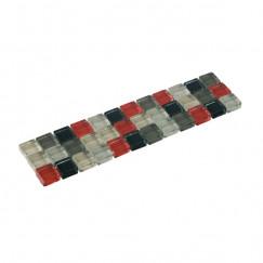 Listello mosaic grijs mix 04,8x19,5
