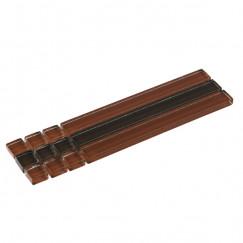 Listello stick mos,bruin 04,8x19,5