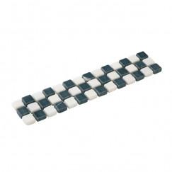 Listello mosaic nero 05,0x23,5