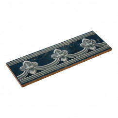Priggo listello florence blauw 8.0x25.0cm, blauw