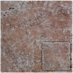 Natuursteen rosso veron,antik 10x10x1,0