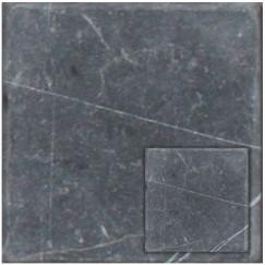 Priggo Natuursteen Nero Marqino Antiek 10x10x1,0
