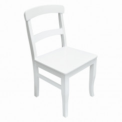 Woondecoratie hout stoel ardeche 88x43x49 cm