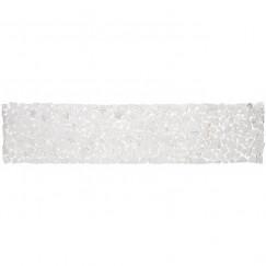 Mozaiek beachstone tafelloper 150x34cm l-gr