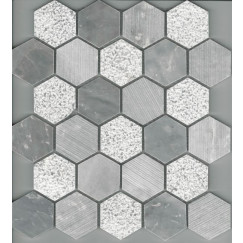 Mozaiek mosaic stone 300x300x10mm chip 53x53 tv-ms 176