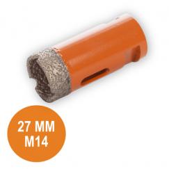 Fix Plus Tegelboor 27 mm. M14 FPTBM-M27