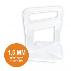 Fix Plus Levelling Clip 1,5 mm. 500 st. TT500-15