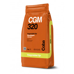 Coba voegproducten voegmaterialen x 5 kg cgm320 voegwit cob