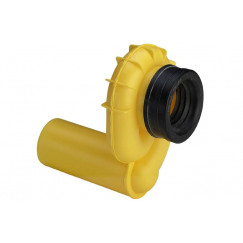 Viega  urinoirafvoersifon horizontaal afvoer=50mm.  492465