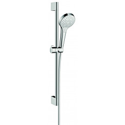 Hansgrohe Croma Select S glijstangset 65 cm. multi wit-chroom Wit Chroom 26560400