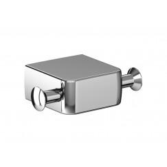 Emco Trend handdoekhaak dubbel chroom Chroom 027800100