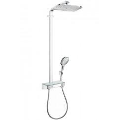 Hansgrohe Raindance Select e 360 showerpipe showertablet
