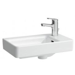Laufen Pro S fontein 48x28 asymetrisch rechts 1xkrgt.m/overl. Wit H8159540001041