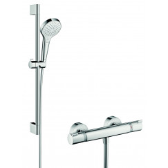 Hansgrohe Croma Select S glijstangset 65cm chroom Chroom 27013400