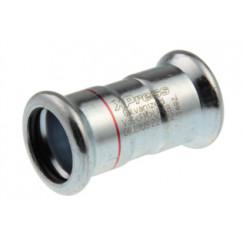 Vsh Xpress rechte koppeling 15x15 mm.pers c1401 staalverzinkt Staal Verzinkt 6201360