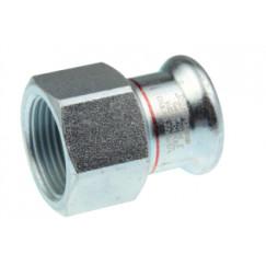 """Vsh Xpress overgangkopp. 3/4""""bi.x 22mmpers c1402 staalverz. Staal Verzinkt 6202405"""