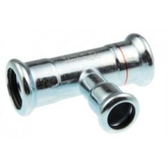Vsh Xpress verloop t-stuk 22x28x22 mmpers c1415 staalverzinkt Staal Verzinkt 6202801