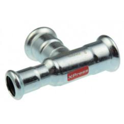 Vsh Xpress verloop t-stuk 22x22x15 mmpers c1416 staalverzinkt Staal Verzinkt 6206741