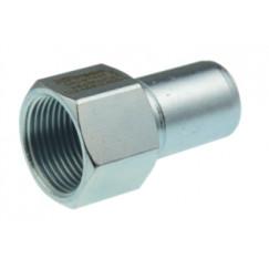 """Vsh Xpress overgangstuk 1/2"""" bi.x 22 mm spie c1433 staalverz. Staal Verzinkt 6202460"""