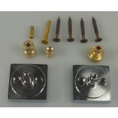 Guo Be Sure showroom montagekit voor afdekset thermostaat chr. Chroom
