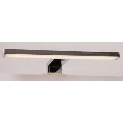Novio Ivo led verlichting 30cm spiegel-spiegelkast mat zwart Mat Zwart