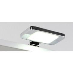 Novio Ivo led verlichting 11,5cm.7w v/spiegel+sp.kast chr. Chroom