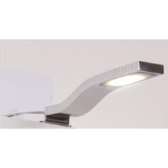 Novio Ivo led verlichting 18,7cm.5w v/spiegel+sp.kast chroom Chroom