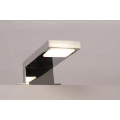 Novio Ivo led verlichting 12,5cm.5,7w v/spiegel-sp.kast chr Chroom