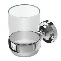 Geesa Tone glashouder met glas chroom Chroom 917302-02