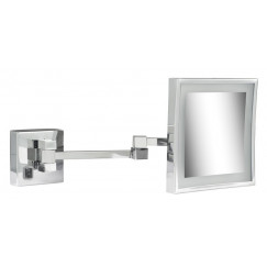 Geesa Cosmetic Collection scheerspiegel 2x arm led 3x vergrotend 205x205