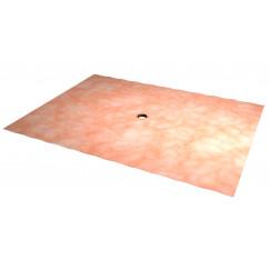 Easydrain Easy2fix aqua afdichtingsdoek voor douchegoot 200 x 150 cm.  E2F-AQUA