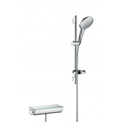 Hansgrohe Ecostat Select doucheset met thermostaat chroom Chroom 27036000