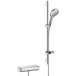 Hansgrohe Ecostat Select doucheset met thermostaat chroom Chroom 27037000