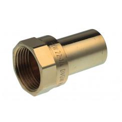 "Vsh Xpress overgangskoppeling 1/2""x15 mm.bixspie 6246g koper Koper 4803117"