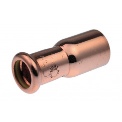 Vsh Xpress Gas verloopkoppeling 22 28 mm.persxspie g7243 koper Koper 4804351
