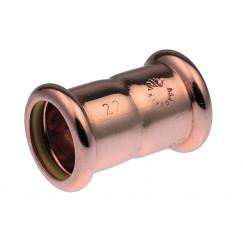 Vsh Xpress Gas rechte koppeling 15 x 15 mm. pers g7270 koper Koper 4804437
