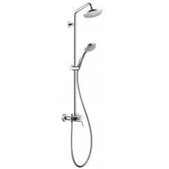 Hansgrohe Croma 100 multi showerpipe met douchekraan chroom Chroom 27154000