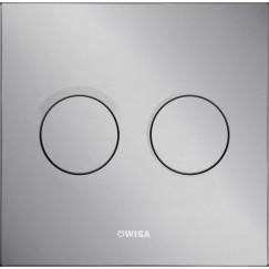 Wisa Luga bedieningsplaat dualflush mat chroom Mat Chroom 8050419631