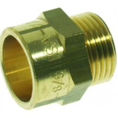 """Vsh C1008 puntstuk 1/2"""" bu.x 12 mm. cap. messing Messing 0404426"""