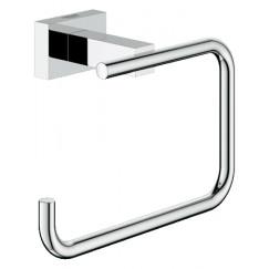 Grohe Essentials Cube closetrolhouder zonder klep chroom Chroom 40507001