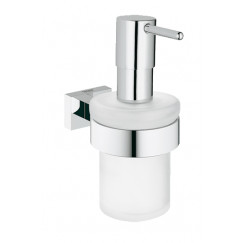 Grohe Essentials Cube zeepdispenser chroom Chroom 40756001