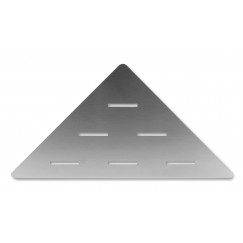Looox Corner Shelf hoekplanchet 30 x 22 cm. rvs geborsteld Rvs Geborsteld CORNER30