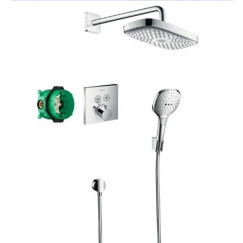 Hansgrohe Raindance Select e showerselect showerset compleet chroom Chroom 27296000