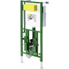 Viega  inbouwreservoir v/douche wc 1130x430 met frontbed.