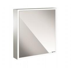 Emco Asis Prime spiegelkast 60 deur links-led verl.binnen witglas
