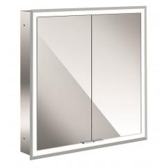 Emco Asis Prime inb.spiegelkast 60 2xdeur-led verl.binnen spiegel  949705071